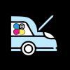 Accessori auto e moto personalizzati