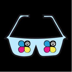 Occhiali da sole personalizzati colorati ed originali