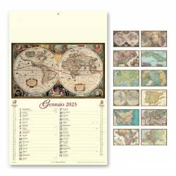 Calendari personalizzati ANTICHE MAPPE - art. PA012