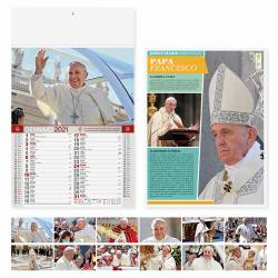 Calendari personalizzati PAPA FRANCESCO - art. PA101
