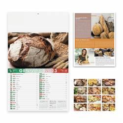 Calendari personalizzati PANE E PASTA - art. PA138
