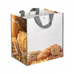 WHEATBOX Borsa shopping con soffietto Cod. Art. PG094PP