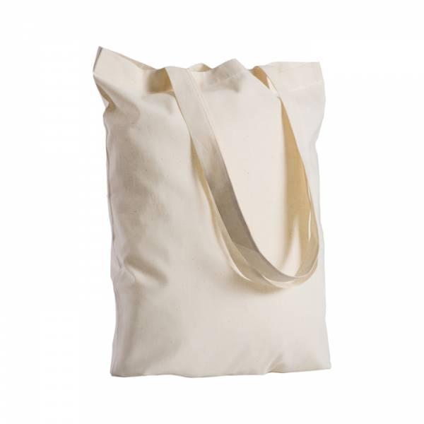 Borse in cotone con manici lunghi - cod. art. PG216 - Shopping Bags