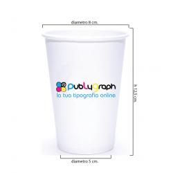 Bicchieri personalizzati da 420cc. per bevande fredde