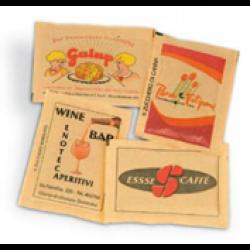 Bustine di zucchero di canna - stampa a 2 colori