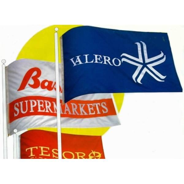 Bandiere personalizzate f.to 100x140 cm.