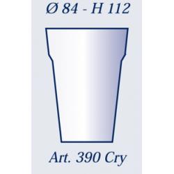 Bicchieri in plastica art. 390 tc 300