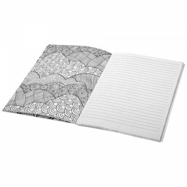Notebook Doodle cromoterapia - Block-Notes