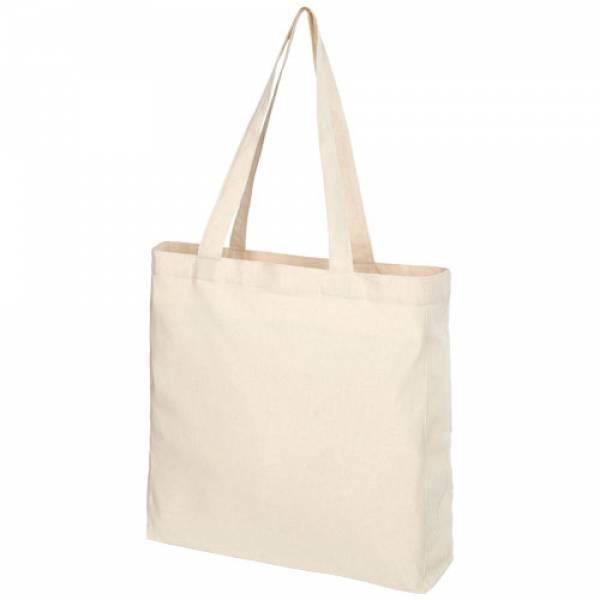 Tote bag con fondo ampio in cotone riciclato da 210 g/m2 Pheebs