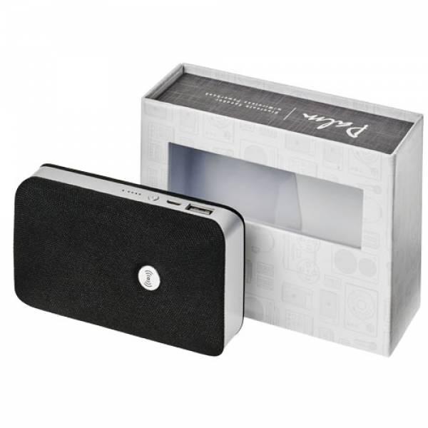 Altoparlante Palm Bluetooth® con power bank wireless