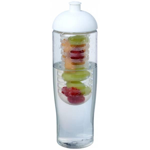 Borraccia sportiva H2O Tempo® da 700 ml con coperchio a cupola e infusore