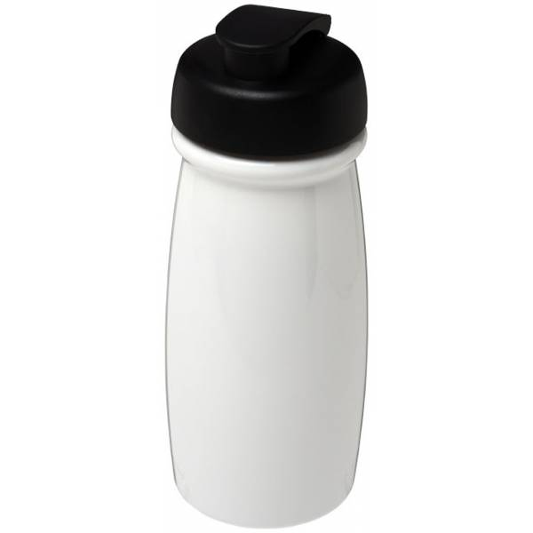 Borraccia sportiva H2O Pulse® da 600 ml con coperchio a scatto