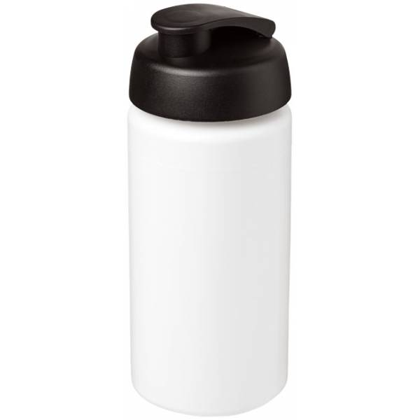Borraccia sportiva Baseline® Plus da 500 ml con impugnatura e coperchio a scatto