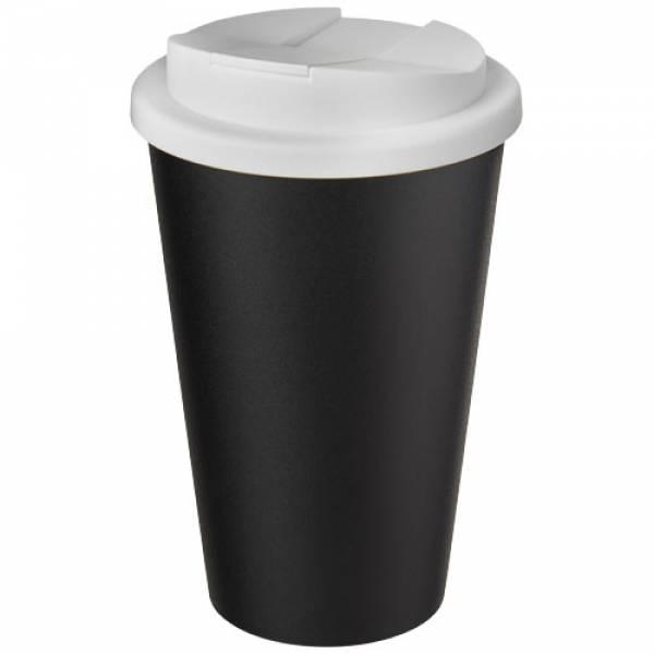 Tumbler Americano® Eco da 350 ml in materiale riciclato e con coperchio a prova di fuoriuscite
