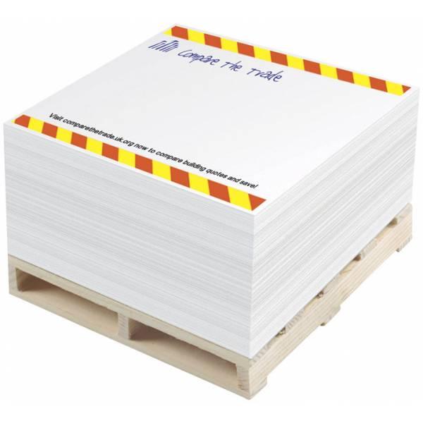 Blocco di foglietti promemoria 1C Pallet Block-Mate®
