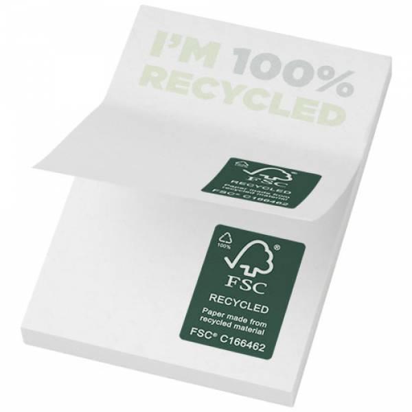 Foglietti adesivi in carta riciclata 50 x 75 mm Sticky-Mate®