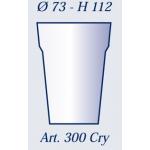 Bicchieri in plastica art. 300 tc 250 - Cartotecnica