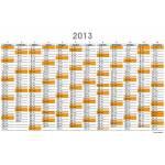 Planner annuali A5 (stampa su f/r) interamente personalizzabili - Planning